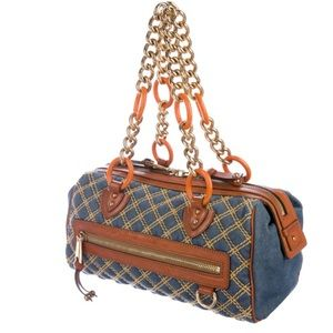 Marc Jacobs Denim Quilted Handbag